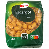 Cora pâtes escargots 500g