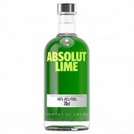 Absolut lime vodka 70cl 40%vol
