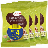Cora pistaches 4x125g