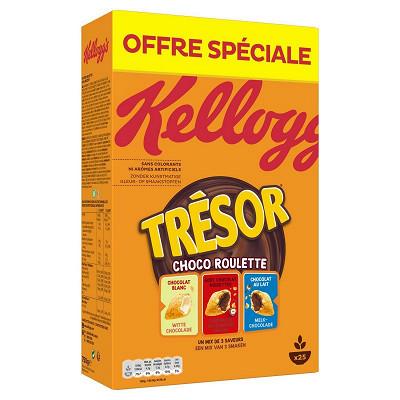 Kellogg's Kellogg's trésor roulettes 750g