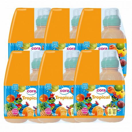 Cora kido jus de fruits tropical 24x20cl