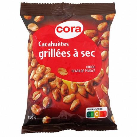 Cora cacahuètes grillées à sec 150g