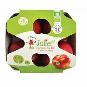 Pomme bio juliet 4 fruits