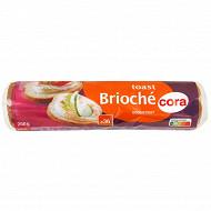 Cora toast rond brioché 250g