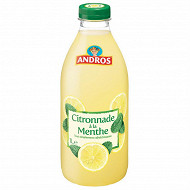 Andros citronnade menthe 1l