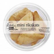 L'Atelier Blini 5 Rikakats, fromage de chèvre citron et ciboulette 100g