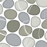 Serviettes x20 pebble 33x33cm 3 plis