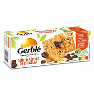 Gerblé goûters pépites de chocolat 250g