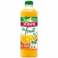 Joker le fruit orange sans pulpe 1l