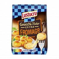 Lustucru Sélection gnocchi a pôeler extra fromage 280g