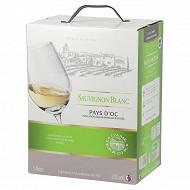 L'âme du terroir igp Sauvignon blanc 5 litres 12% Vol.
