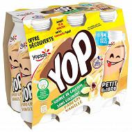 Ptit yop aromatisé vanille 6x180g offre découverte