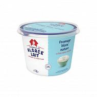 Alsace Lait fromage blanc battu 2,8%mg pot 1kg