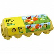 Nature Bio 10 oeufs pa calibres différents n°0