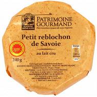 Patrimoine gourmand petit reblochon de Savoie au lait cru aop 240g
