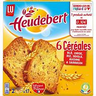 Lu heudebert biscottes 6 céréales 300g