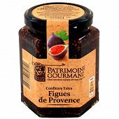 Patrimoine gourmand confiture extra de figues de Provence 325g