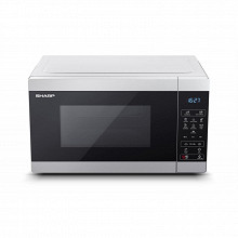 Sharp Micro-ondes grill 25 litres silver YC-MG51ES
