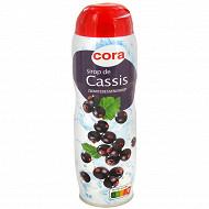 Cora sirop cassis 75cl