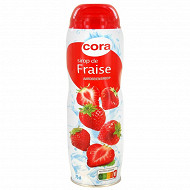 Cora sirop fraise 75cl