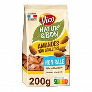 Vico natur&bon amandes naturelles non salees 200g