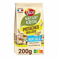 Vico natur&bon pistaches grillees non salees 200g
