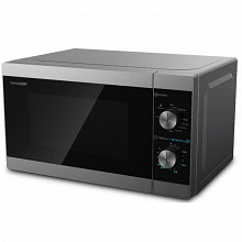 Sharp Micro-ondes grill 20 litres silver YC-MG01ES