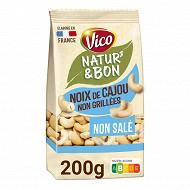 Vico natur & bon noix de cajou naturelles non salees 200g