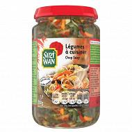 Suzi Wan chop suey mélange de légumes à cuisiner 195g net egoutté