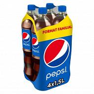 Pepsi reg format familial 4x1.5l