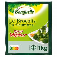 Bonduelle brocolis vapeur kg