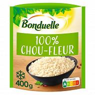 Bonduelle 100% chou-fleur à déguster comme du riz 400g