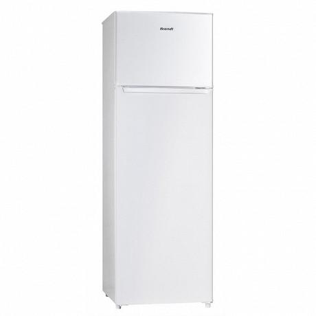 Brandt Réfrigérateur double portes 248 litres BFD6521SW