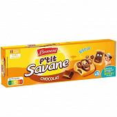 Brossard p'tit savane chocolat x5 150g