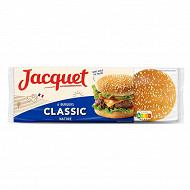 Jacquet 6 pains à hamburger 330g