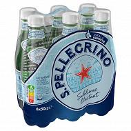 San Pellegrino eau minérale naturelle gazeuse 6x50cl
