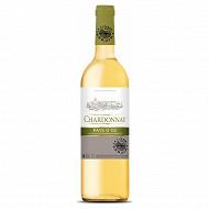 L'ame du terroir IGP OC Chardonnay blanc 75cl 13% Vol.