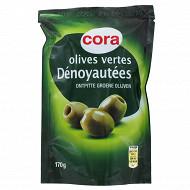 Cora olives vertes dénoyautées 100g