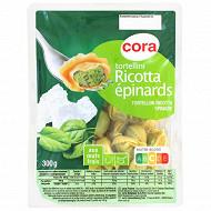 Cora tortellini ricotta épinards 300g