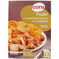 Cora filet de poulet et pommes de terre à la sarladaise 300g