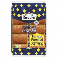 Pasquier pains chocolat emballage individuel x 16 - 720 g