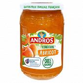 Andros confiture allégée d'abricots 350g