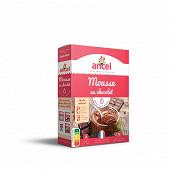 Ancel préparation pour mousse au chocolat 2 sachets 190g