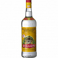 Dillon rhum blanc 1 litre 55% Vol.