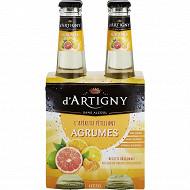 D'Artigny agrumes 4x27.5cl 0%vol