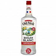 Old Nick rhum blanc 1,5L 40%vol