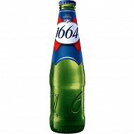 1664 bière blonde la bouteille de 75 cl 5,5% Vol.