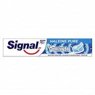 Signal dentifrice haleine pure tube 75ml