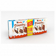 Kinder country x18 423g
