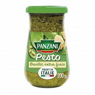 Panzani sauce pesto au basilic frais 200g